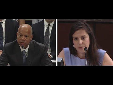 Stefanik asks questions at Jeh Johnson Russia hearing