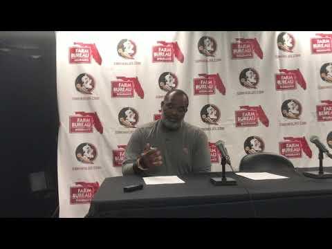 FSU Interim Head Coach Odell Haggins talks FSU's win over BC