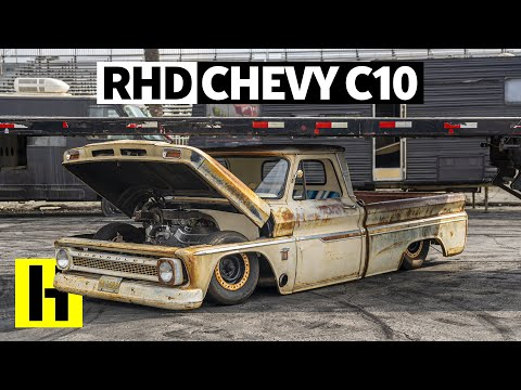 Pure Patina and Right Hand Drive, This C10 Blows Our Minds