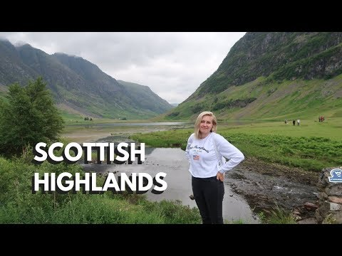 Day Trip to the SCOTTISH HIGHLANDS, GLENCOE & LOCH NESS | Merete (видео)