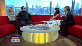 Nick Frost and Jodie Whittaker talk about Attack the Block on Daybreak.