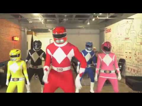 This Hip-Hop Power Ranger video is the best thing you've seen all afternoon.