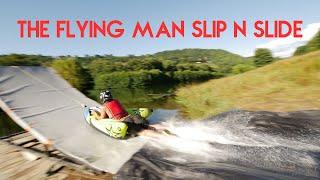 The Flying Man Slip N Slide - Launch ramp slip and slide | RadCow