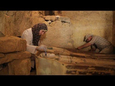 Gizeh: 4.500 Jahre altes Pyramidengrab gefunden
