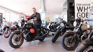 4. Moto Guzzi V7 III Carbon, Milano quick review