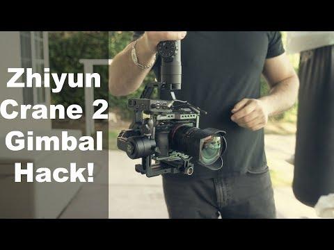 Zhiyun Crane 2 HACK For Filmmakers - So Cool!   Momentum Productions