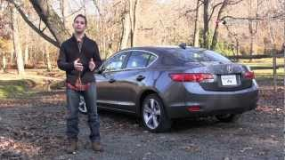 Acura ILX 2013 Review&Road Test With Ross Rapoport By RoadflyTV