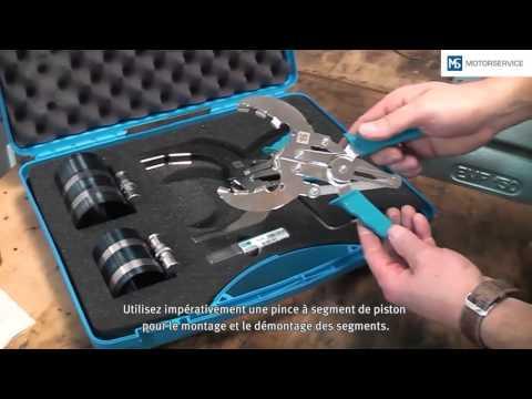 Montage de segments de piston - Motorservice Group