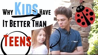 Video Why Kids Have it Better Than Teenagers | Brent Rivera MP3, 3GP, MP4, WEBM, AVI, FLV Desember 2018