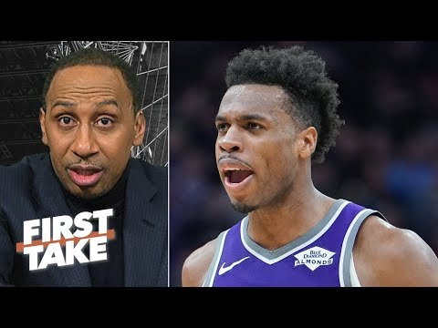 Video: Kings are not scared to face Warriors in the NBA playoffs - Stephen A | First Take