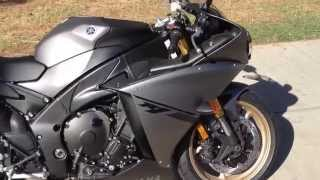 5. 2014 Yamaha YZF R1 Matte Grey