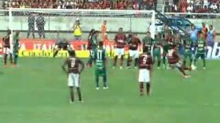 Gol de Ronaldinho Gaucho Flamengo campeão da taça guanabara 2011Flamengo 1 x 0 Boavista