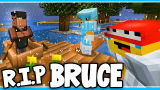 Minecraft - TIME TRAVELLERS! - BRUCE'S FUNERAL!! #37 W/Stampy & Ash!