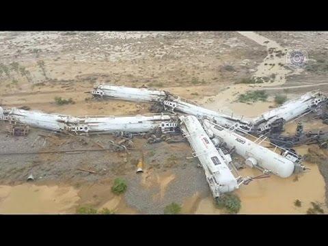 Αυστραλία: Τρένο με θειικό οξύ εκτροχιάστηκε στο Κουίνσλαντ