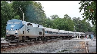 Huntingdon (PA) United States  city photos : Amtrak & NS trains at Huntingdon, PA