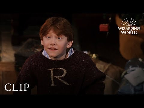 Happy Christmas, Harry and Ron | Harry Potter and the Philosopher's Stone