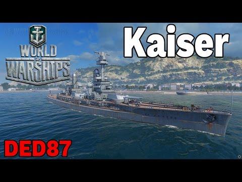 upierdliwy lotniskowiec - Kaiser -  World of Warships