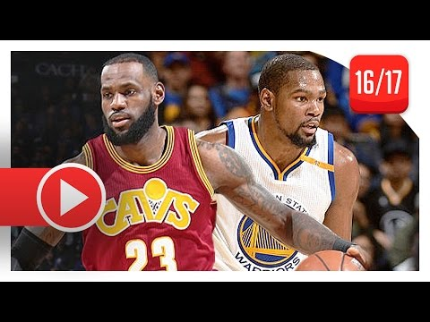 LeBron James vs Kevin Durant MVP Duel Highlights (2017.01.16) Warriors vs Cavs - KD WINS IT!