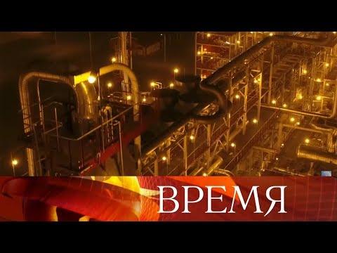 Узбекистан и российская компания ЛУКОЙЛ за 2 года в пустыне построили газоперерабатывающий комплекс. - DomaVideo.Ru