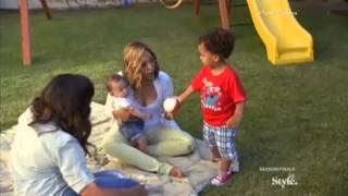 Scene From Tia & Tamera Reality Show - Adorable Kids Aden And Cree