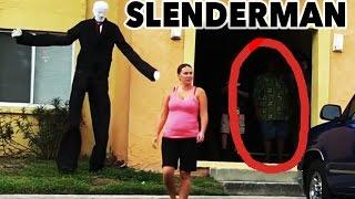 BEST OF SLENDERMAN!!! (Prank Compilation 2014)
