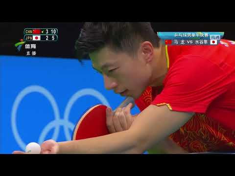 Ma Long Vs Jun Mizutani (© International Olympic Committee)