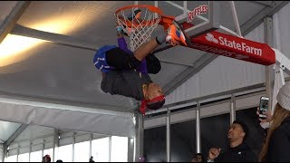 Lil' Durk, Jadakiss, John Collins Shut It Down at BRxNC Dunk Contest, Celebrity Game by Bleacher Report
