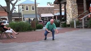 Think you can dance? Awesome video of a senior dancing to his own beat in The Villages FL.. - YouTube
