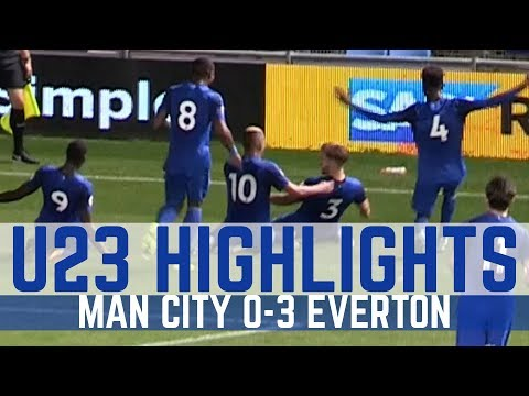 Video: U23 HIGHLIGHTS: MAN CITY 0-3 EVERTON