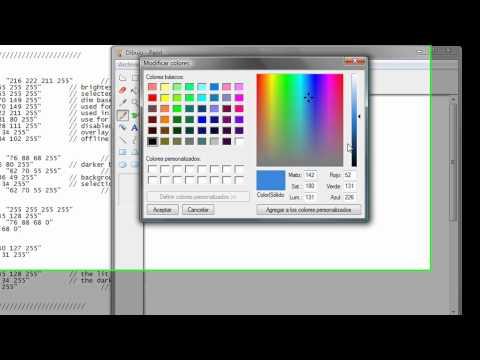 Cs 1.6 no steam ( modificar color de menu )