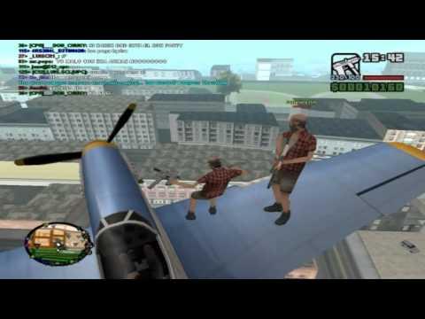 GTA SA Multiplayer - Pac , Michael , Batista e Nutss!