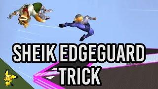 Sheik Edgeguard trick tutorial