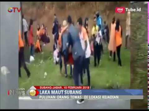 Rekaman Video Amatir Sesaat Setelah Kecelakaan Maut Di Tanjakan Emen - BIP 11/02