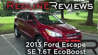 2013 Ford Escape SE 1.6T EcoBoost Walkaround, Review And Test Drive