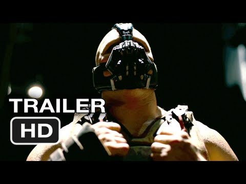 The Dark Knight Rises Official Movie Trailer Christian Bale, Batman Movie (2012) HD