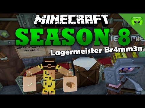 LAGERMEISTER BR4MM3N «» Minecraft Season 8 # 25   HD