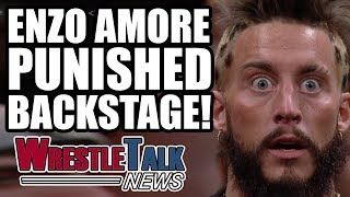 Heat on new Smackdown star, Enzo Amore backstage WWE punishment and more in this WrestleTalk News Aug. 2017...Subscribe to WrestleTalk for daily WWE and wrestling news! https://goo.gl/WfYA12Support WrestleTalk on Patreon here! http://goo.gl/2yuJpoSubscribe to WrestleTalk's WRESTLERAMBLE PODCAST on iTunes - https://goo.gl/7advjXEnzo Amore kicked off WWE bus by Roman Reigns, via Wrestling Observer Newsletter - http://members.f4wonline.com/archive-newslettersEnzo Amore backstage WWE heat for bringing guests backstage, via Sports Illustrated - https://www.si.com/extra-mustard/2017/08/07/enzo-amore-wwe-antics-locker-roomEnzo Amore in Shark Cage for Big Show vs Big Cass WWE Summerslam 2017 match is punishment, via Dirty Sheets Podcast - https://www.youtube.com/watch?v=FrJ3Nfz6UAgBackstage WWE heat on Smackdown wrestler Mike Kanellis, via Dirty Sheets Podcast - https://www.youtube.com/watch?v=hcB_vNucJeUMike Kanellis reveals prescription drug addiction battle, via Instagram - https://www.instagram.com/p/BXzYcdpldcz/Rusev angry with someone tweet - https://twitter.com/RusevBUL/status/897721810783010816Catch us on Facebook at: http://www.facebook.com/WrestleTalkTVFollow us on Twitter at: http://www.twitter.com/WrestleTalk_TV