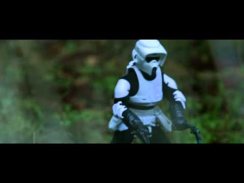 Star Wars Speeder Bike Drones