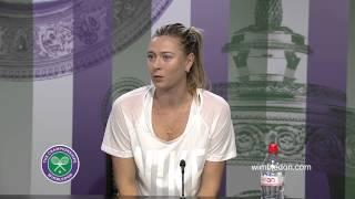 Tennis Highlights, Video - Maria Sharapova Semi-Final Press Conference