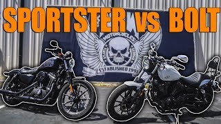 4. Here Is Why The Yamaha Bolt Is A BETTER Harley Than the Sportster