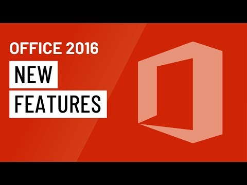 Office 2016: New Features