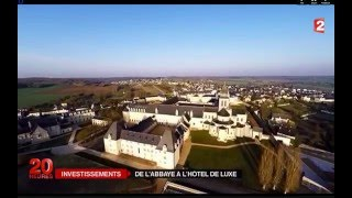Fontevraud l'Abbaye France  city images : Abbaye Royale de Fontevraud JT 20H FRANCE 2
