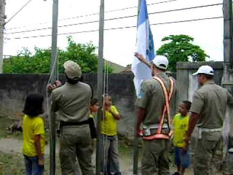Homenagem à Bandeira na E.M. Manoel João Gonçalves/Tanguá/ Parte 3/3