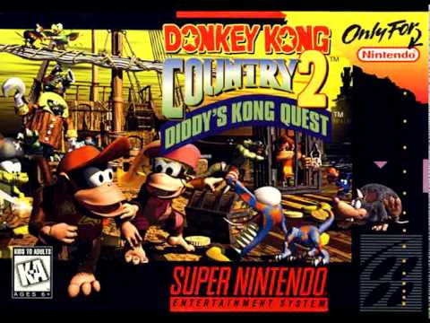 [Donkey Kong Country 2 OST] All 16 Stage Clear Jingles (w/Dixie)