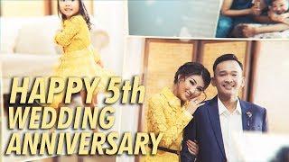 Video The Onsu Family - Kejutan Ulang Tahun Pernikahan ke-5 dari Ayah Untuk Bunda MP3, 3GP, MP4, WEBM, AVI, FLV November 2018