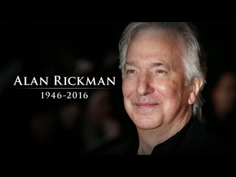 A Touching Tribute to Alan Rickman Featuring Scenes From Some of His Most Memorable