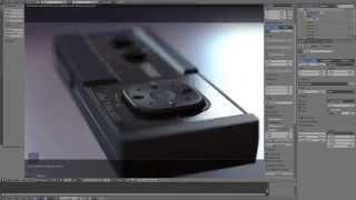Blender Timelapse: SEGA Master System Controller