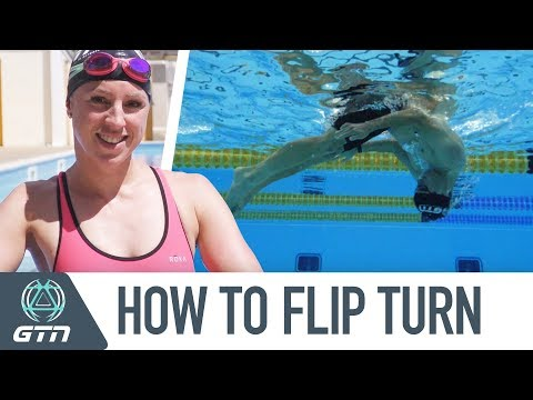 How To Flip Turn | Freestyle Swimming Tips For Beginners