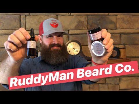 Are You Ruddy? Ruddy Man Beard Co Review!! Beard Oil, Beard Balm, Butter !!