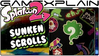 We collected every Sunken Scroll in Splatoon 2's single player campaign! Curious what they all have to say? ---------------------------------Follow GameXplain!---------------------------------➤ PATREON:  https://www.patreon.com/GameXplain➤ FACEBOOK:: http://www.facebook.com/gamexplain➤ TWITTER: http://twitter.com/GameXplain➤ INSTAGRAM: https://www.instagram.com/gamexplain_official➤ GOOGLE+: https://plus.google.com/108004348435696627453⮞ Support us by shopping @ Play-Asia- http://www.play-asia.com/?tagid=1351441 & @ AMAZON- http://geni.us/wq8 ⮜